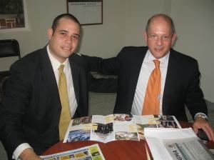 Dean Ferrillo during his recent trip to Venezuela.